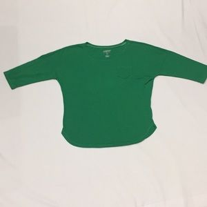 Old navy 3/4 sleeve tee size small